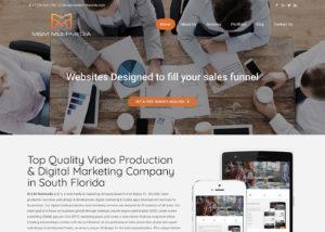 M&M Multimedia website