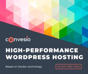 convesio wordpress hosting