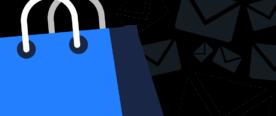 Illustration representing email marketing during Black Friday sales